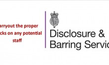 Disclosure and barring service logo