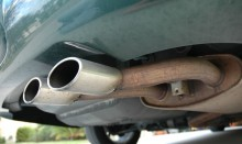 Exhaust pipe muffler