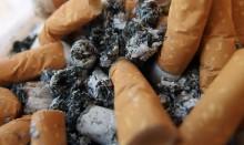 Cigarettes and ash