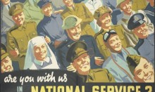 National service poster