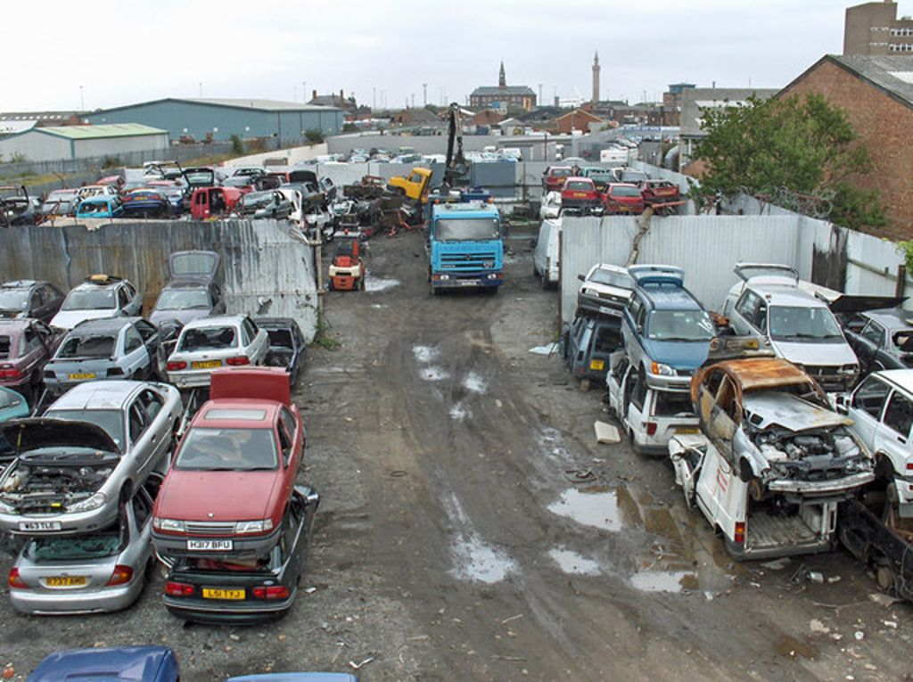 Car Scrap Yard Business For Sale