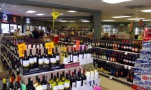 Supermarket alcohol